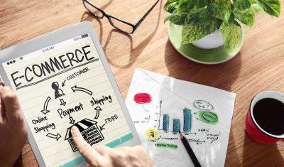 35339536 - digital online marketing e-commerce office working concept